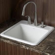 Kohler Laundry Room Sink K6655 3 0 Park Falls Laundry Sink Laundry Utility White At