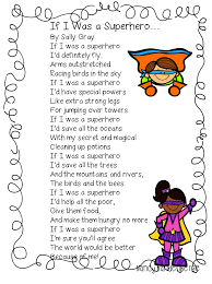 first grade wow superhero poem classroom tchr stuff pinterest
