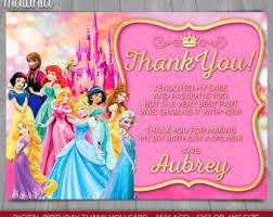 princess cards etsy