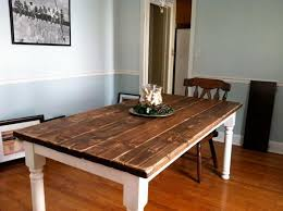 How To Make A Cheap End Table by How To Make A Cheap Dining Room Table 19206