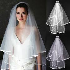 bridal veil wedding veil ebay