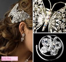 butterfly for hair wednesday wedding accessory butterfly hair twist ins barrette