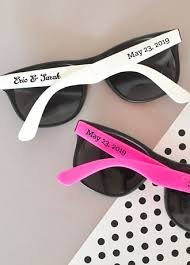 personalized sunglasses wedding favors personalized wedding sunglasses david s bridal