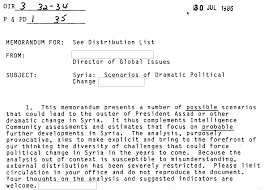 cover letter for cia the cia u0027s blueprint for syrian regime collapse new declassified
