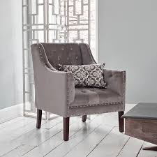Gray Armchair Upholstered Armchairs U0026 Cocktail Chairs Luxurious Linen U0026 Velvet
