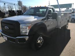 Ford F350 Dump Truck With Plow - service utility trucks for sale