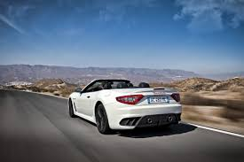 maserati grancabrio 2015 maserati sports up grancabrio drop top with new mc edition