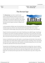 primaryleap co uk reading comprehension the bronze age