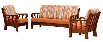 Wood Sofa Designs 2015 Furniture Modern Sofa Ideas Featuring Wooden Frame Sofa Set
