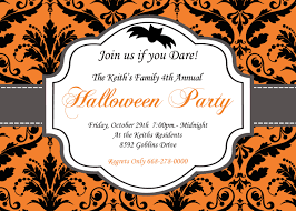 Halloween Birthday Invitations Printable Happy Halloween Invitations U2013 Fun For Halloween