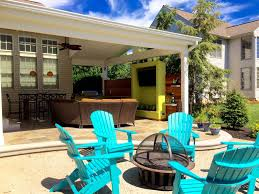 covered outdoor living spaces project spotlight an enviable outdoor living space