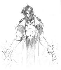 gambit from x men pencil sketch my favorite character u2026 flickr