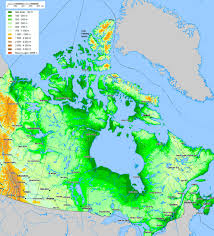 Map Canada by Swisseduc Glaciers Online Axel Heiberg