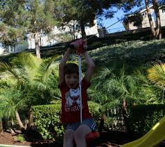 how to build a backyard zipline oc mom blog