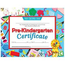 kindergarten certificates publishing va699 pre kindergarten certificate schoolsin