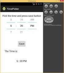 timepicker android android time picker tutorial rz rasel