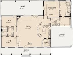 Simple 3 Bedroom House Plans Best 25 Open Floor Plans Ideas On Pinterest Open Floor House