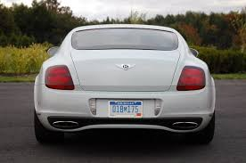 bentley rear 2010 bentley continental rear view photo buntycars