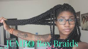 how many packs of hair for box braids hair how to create jumbo box braids youtube with sunshiny how