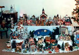 Christmas Village Sets Drinkard Adds To Christmas Village Collection Each Year