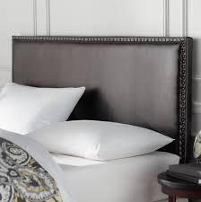 Custom King Headboard Bedroom Marvelous Grey Upholstered King Bed Custom Fabric