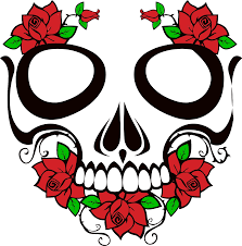 skull and roses icons png free png and icons downloads