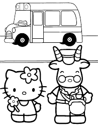printable 11 kitty coloring pages 7173