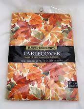 thanksgiving table cover tablecloths décor ebay