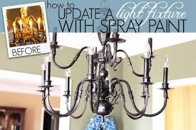 Painted Chandelier Chandeliers And Light Fixtures Ideas