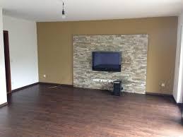 steinmauer wohnzimmer haus renovierung mit modernem innenarchitektur kleines