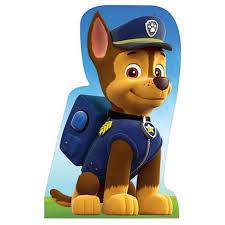 chase paw patrol cardboard cutout standup standee standingstills