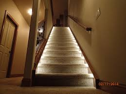 led home interior lighting lighting for the home illuminate the staircase leading to the