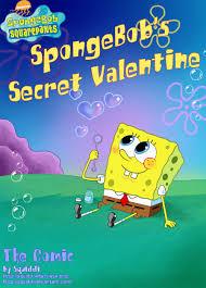spongebob u0027s secret valentine by squiddi u003cspongebob u003e pinterest