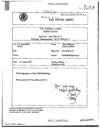 Fax Cover Sheet Pages by Dos Fax Cover Sheet Re Uk Confidential Www Thetorturedatabase Org