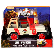 jurassic world jeep jurassic world legacy collection jeep wrangler with winch vehicle