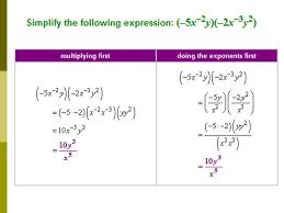 simplify u2013 no negative exponents binomial radical expressions i