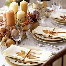Thanksgiving Dinner Table Decorations 15 Chic Fall Decorating Ideas For Thanksgiving At Babble