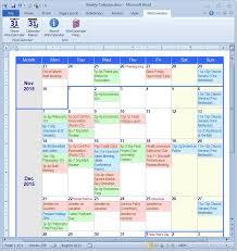 microsoft word weekly calendar weekly calendar template microsoft