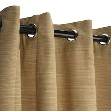 Curtains With Tabs Sunbrella Outdoor Curtain With Tabs In Spectrum Cilantro 50 X
