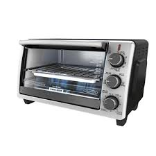 Toaster Oven With Auto Slide Out Rack Black Decker Black And Stainless Steel Toaster Oven To19050sbd