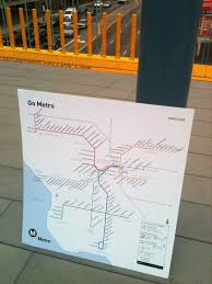 Los Angeles Metro Rail System Map by New Metro Rail Map The Source