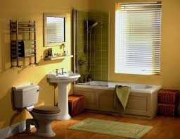 Paint Color Ideas For Bathroom by Green Bathroom Color Ideas Enter Freshness Using Unique Yellow