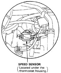 replacing your honda accord vehicle speed sensor vss