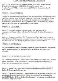 8 free sample storage lease agreement templates u2013 openoffice