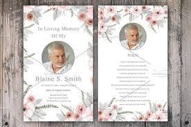 funeral prayer cards funeral prayer card template card templates creative market