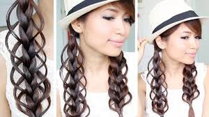 hair braiding styles step by step loop braid hair tutorial braided hairstyle bebexo youtube