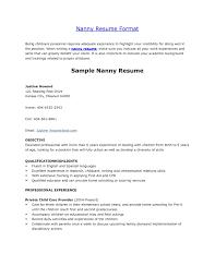 nanny resume exles wondrous design nanny resume sles 13 nanny cv exle for nanny