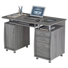 furniture techni mobili tempered glass computer desk techni