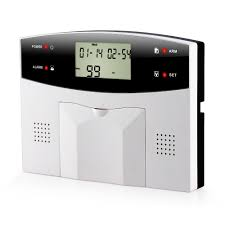 metal remote control dual network gsm pstn sms kit burglar alarm