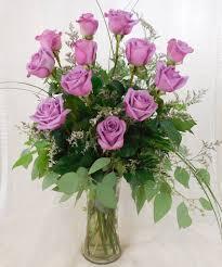 lavender roses dozen stem lavender roses swenson silacci flowers